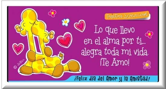 Imagen para facebook Día de Amor y Amistad