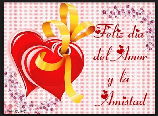 Feliz Día del Amor y Amistad