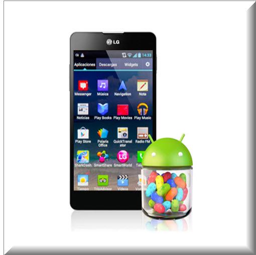 LG Optimus L5 II, Android  4.1. 2