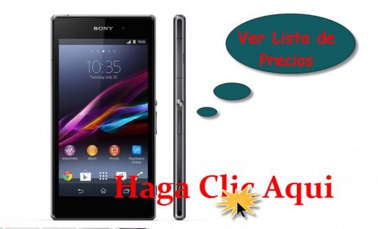 Listado de Ofertas Sony Xperia  Z1
