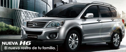 Nueva Great Wall H6