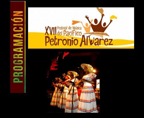 Programación Festival Petronio Álvarez 2013