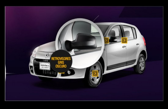 Renault Sandero ice Wath