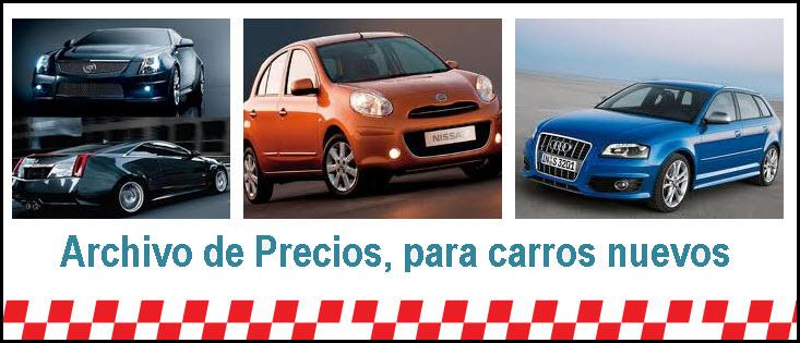 Precios carros nuevos en Colombia, actualizados según la revista motor
