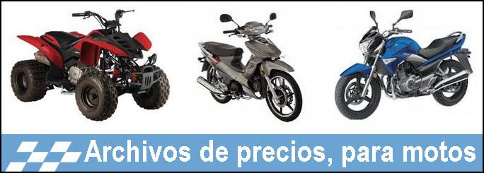 Precios de motos nuevas segun revista motor