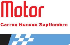 Precios revista motor carros nuevos 26 de septiembre de 2013