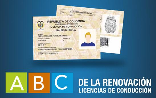 licencias de conducción 2014