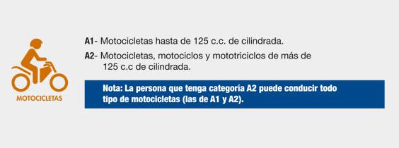 categorias para motocicletas
