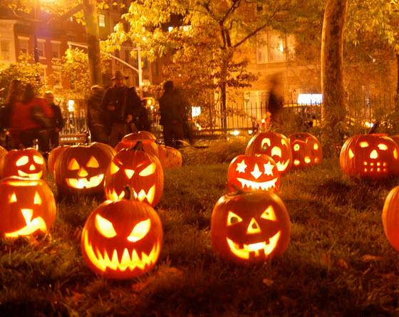31 de octubre celebración de halloween o noche de brujas