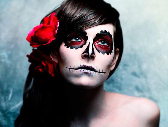 Maquillaje Halloween para mujer