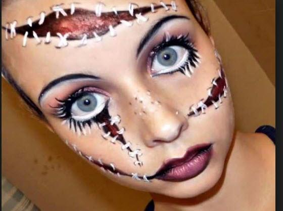 Maquillaje Halloween para 2013