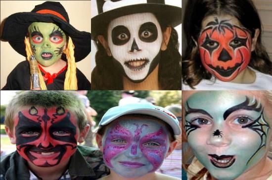 Ejemplos de maquillaje en halloween