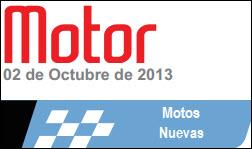 Precios revista motor, motos nuevas 2 de octubre de 2013