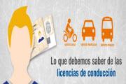 Preguntas frecuentes, licencias de conducción 2013