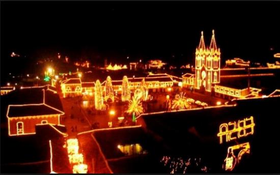 Alumbrado navideño en Bogotá
