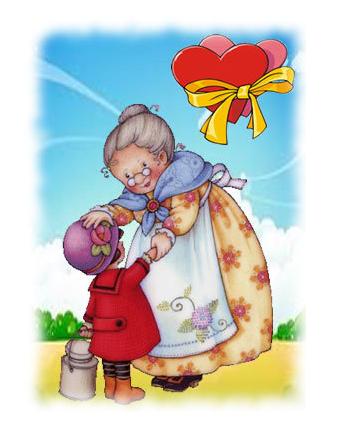 Tarjetas y postales dia de la abuela