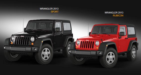 ver especificaciones tecnicas el jeep wrangler 2013