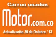 Precios revista motor carros usados nacionales octubre 30 de 2013