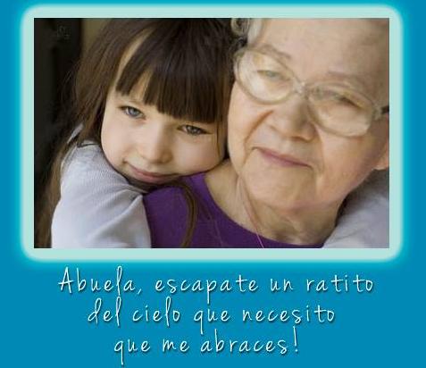 tarjetas y postales dia de la abuela 2013