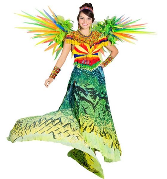 traje artesanal señorita antioquia 2013