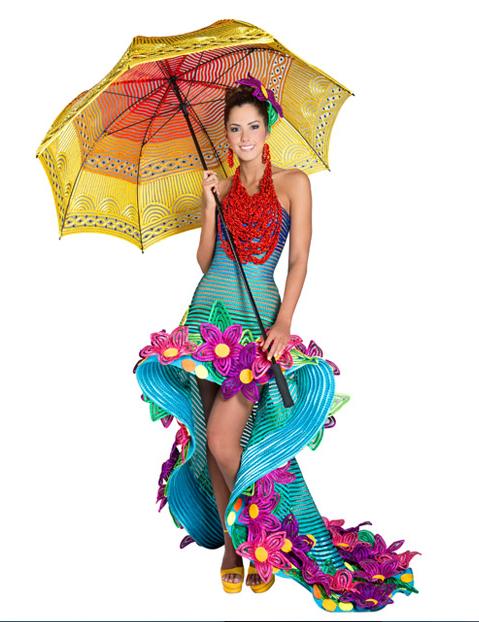 traje artesanal señorita atlántico 2013