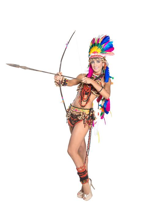 traje artesanal señorita Caqueta 2013