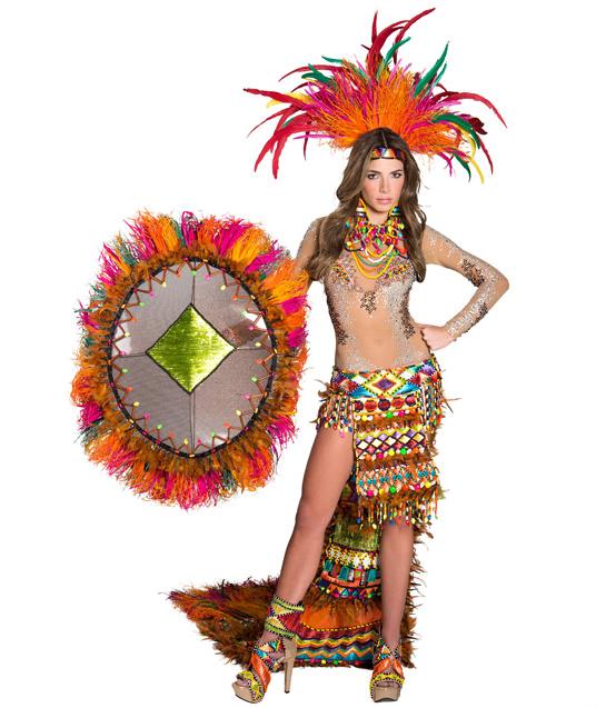 traje artesanal señorita cartagena 2013