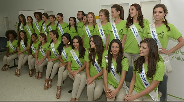 candidatas del concurso nacional de belleza 2013