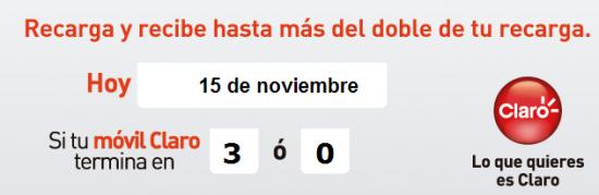 pico y placa de comcel para el 15 de noviembre de 2013