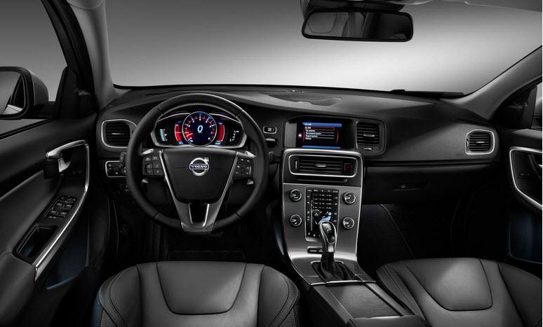 interior volvo S60 2014 y ficha técnica