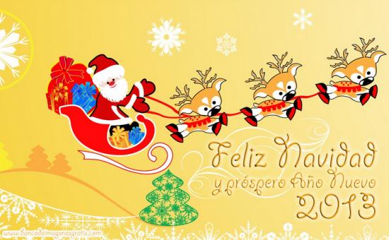 Mensajes de Navidad, messenger