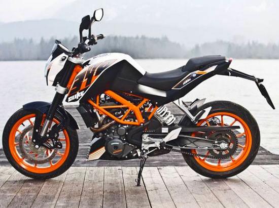 Ver ficha tecnica de la moto ktm 390 Duke 2015