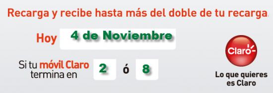 Pico y placa comcel claro para hoy 4 de diciembre de 2013