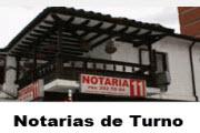 Notarias de turno los sábados en Cartagena para el año 2015