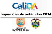 Impuesto de Vehículo Cali 2014