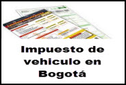 Pago de impuestos de vehículos Bogotá 2014