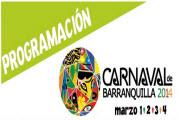 Programación Oficial del Carnaval de Barranquilla 2014