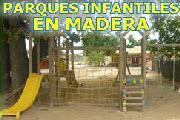 Venta de Parques Infantiles Metálicos, en Madera y Biosaludables