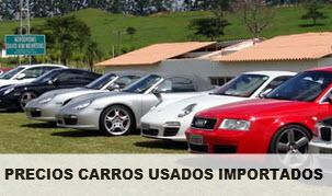 Precios revista motor carros usados importados 18 de Junio 2014