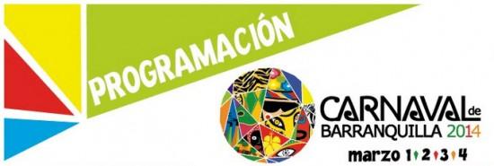 Ver Programación del carnaval de Barranquilla marzo de 2014