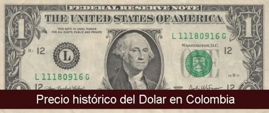 Ver Precio Histórico Del Dolar O Trm En Colombia