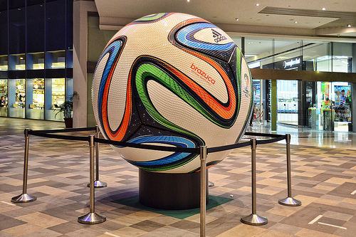 Balón oficial del mundial de Brasil: Brazuca