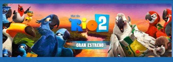 Película infantil Rio 2