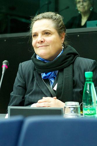 candidata presidencial, clara Lopez