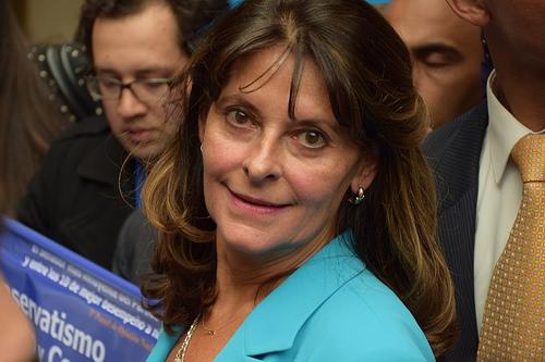 Candidata presidencia, Martha Lucia Ramirez