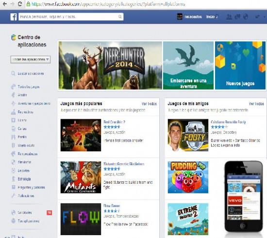 aplicaciones moviles de facebook