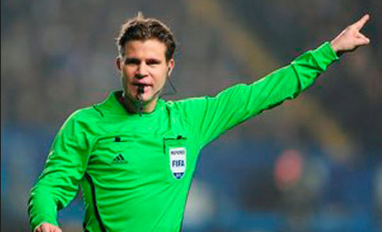 Arbitro que estará en brasil 2014