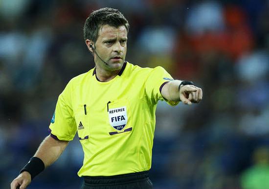 Nicola Rizzoli (Italia) arbitro del mundial brasil