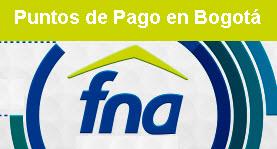 Puntos de pago, ahorro voluntario Fondo Nacional del Ahorro Bogotá
