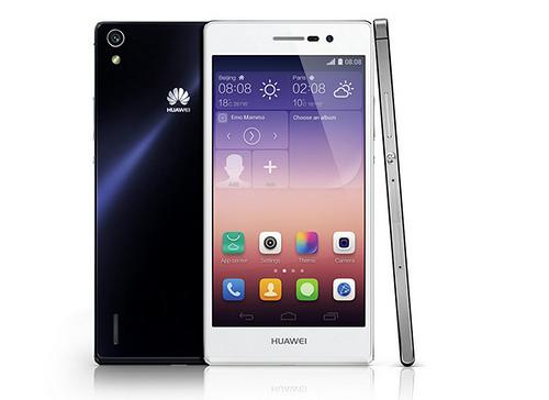 Vista y caracteristicas del Huawei Ascend P7